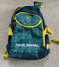 RARE & NEW Brazilian Olympic backpack - Rio 2016 Official Team (Time) Brazil