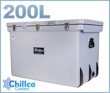 200L CHILLCO ICE BOX COOLER CHILLY BIN SUPERIOR ICE RETENTION - RRP $680