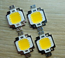 4 Stk. LED Chip  300 mA, 10 W, 900 Lm,warmweiss, ww,  Neu, COB, Aquarium, Fluter