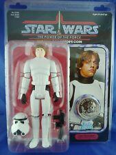 "Gentle Giant Star Wars  Jumbo Figure 12"" Luke Skywalker in Stormtrooper disguise"