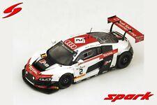 1:43 Audi R8 n°2 Spa 2014 1/43 • SPARK SB077 #