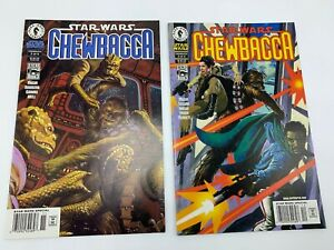 Star Wars Chewbacca Comic issues #2 and #3 DARK HORSE