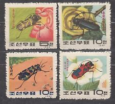 KOREA 1963 mint (*) SC#465/68 set, Korean beetles.