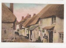 Cottages At Hope Devon Vintage Postcard 286b