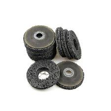 3 x CSD Scheibe 100 mm schwarz Reingungsscheibe Flex Set Schleifscheiben Neu