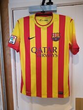 Camiseta Barcelona Visitante 2013-14 Fútbol Por Nike Talla M-Nuevo