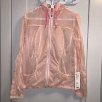 Lululemon Women's Transparent-See Jacket Parfait Pink / Pinkelicious Size 10