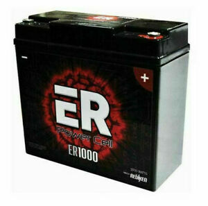 Energie ER1000 Power Cell Source Reikken Sealed Car Battery 12 Volt / 1000 Watt
