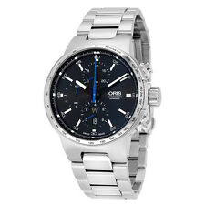 Oris Williams F1 Chronograph Automatic Black Dial Stainless Steel Mens Watch