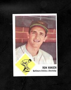 1963 FLEER #2 RON HANSEN - NM/MT - ORIOLES - COMBINE SHIPPING