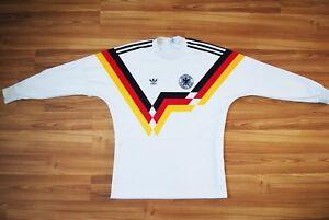 GERMANY DEUTSCHLAND NATIONAL FOOTBALL TEAM 1988 1989 1990 LONG SLEEVE M MEDIUM