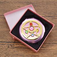 Anime Sailor Moon Kristall Star Makeup Spiegel für Frau Mädchen Tragbar Schön