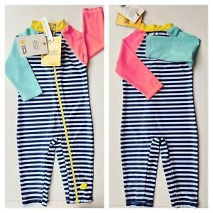 NWT SIZE 0 baby rashy, CANCER COUNCIL Rashie Children Rash Vest Swimwear, 6-12mt