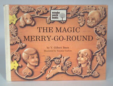 Vintage 1973 Wonder World Books The Magic Merry Go Round V Gilbert Beers