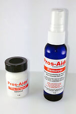 Pros-Aide Adhesive Makeup Halloween Theatrical Liquid Glue Special Fx + Remover