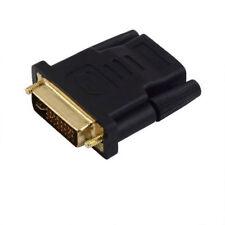 Adaptateur Convertisseur DVI Mâle vers HDMI Femelle POUR HDTV LCD LZ