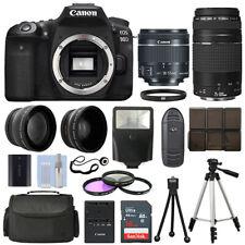 Canon EOS 90D SLR Camera + 4 Lens Kit 18-55 STM + 75-300mm + 16GB Top Value Kit