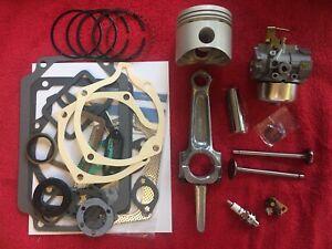 MASTER REBUILD Kohler 12HP Kohler K301 Valves tune up and carburetor also M12