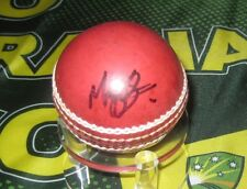 Mark Cosgrove (Sth Australia & Australian Cricketer)  signed Red Cricket Ball