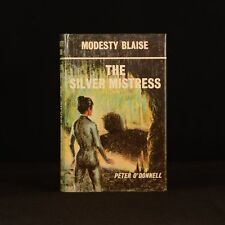 1973 The Silver Mistress Modesty Blaise Peter O'Donnell First Edition Dust Wrapp