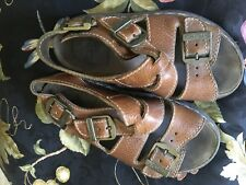 Dr  martens Leather Fisherman Sandals england  Buckle Strap womens US 6 EURO 38