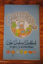 Vintage 1977 Osterizer Blender Spin Cookery Cookbook Recipes & Instructions