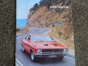 FORD FALCON XB BROCHURE