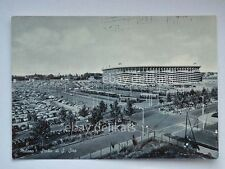 MILANO Stadio San Siro calcio football TRAM AUTO vecchia cartolina B/N