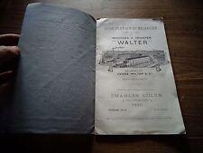 Guide Pratique Ancienne Machine à Tricoter WALTER Mulhouse en Thuringe