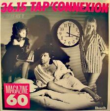 MAGAZINE 60 3615 tap'connexion/instrumental MAXI 1988 IBACH EX++
