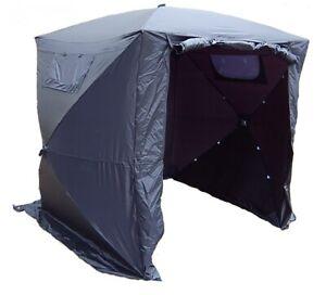 Faltzelt schwarz, Zelt schwarz, Fotozelt, Videozelt