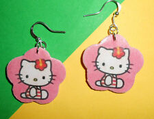 Orecchini fimo Hello Kitty ultimo pezzo! earrings fatti a mano idea regalo