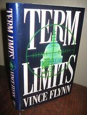 1st Edition TERM LIMITS Vince Flynn FIRST BOOK Thriller MYSTERY Novel FICTION