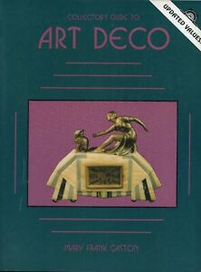Art Deco Arts - Statues Pottery Metal Jewelry Etc. / Illustrated Book + Values