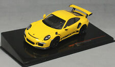 IXO Porsche 911 991 GT3 RS GT3RS in Yellow 2017 MOC299 1/43 NEW 2020 Release