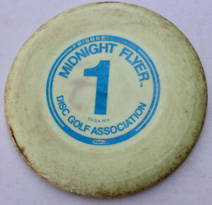 Vintage Rare Disc Golf Association Midnight Flyer Frisbee Wham-O 1979 Glow 1