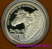 2012 S Native American (Sacagawea) Dollar Deep Cameo Gem Proof