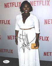 Danielle Brooks hand SIGNED Photo #1 JSA COA Orange Is The New Black Taystee