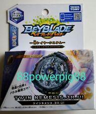 Takara Tomy Beyblade Burst B-102 Booster Twin Nemesis .3H.UI US Seller