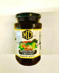 MD MIXED FRUIT CHUTNEY NEW 450g PURE REAL FRESHNESS QUALITY 100% PROTEIN ENERGY