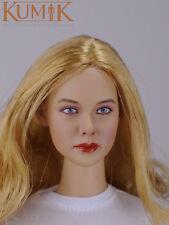 "1/6 scale female head sculpt kumik 16-34 f/12"" hot sideshow toys ttl ht body"