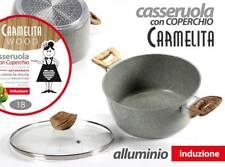 CASSERUOLA CARMELITA IN ALLUMINIO ANTIADERENTE INDUZIONE 26*11,5 CM MIL-745614