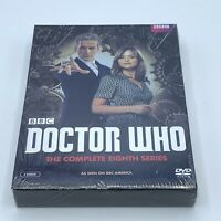 Doctor Who: The Complete Eighth Series (DVD, 2014, 5-Disc Set) Season 8