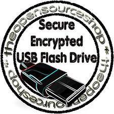 Sicuro crittografato 64GB USB 3.0 PEN DRIVE proteggere i dati & file