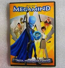 Megamind WS DVD 097361329949 Tina Fey Will Ferrell Brad Pitt David Cross