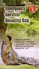 Emergency Survival Sleeping Solar Foil Blanket Bag -New