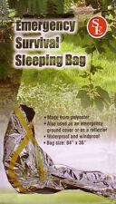Emergency Survival Sleeping Solar Foil Blanket Bag -New
