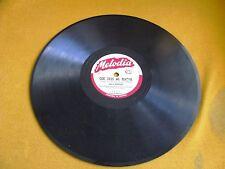 78 RPM MELODIA PORTUGAL AMALIA RODRIGUES FADO QUE DEUS ME PERDOE /AI MOURARIA