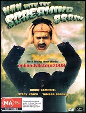 MAN with the SCREAMING BRAIN (Bruce CAMPBELL Stacy KEACH) Film DVD NEW SEALED