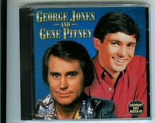 GEORGE JONES & GENE PITNEY, CD, NEW SEALED